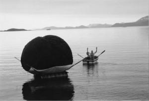 """Inghild Karlsen, """"Pustende ballong"""", 1988-89"""