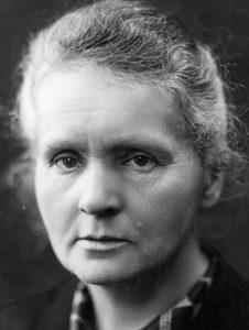 Marie Curie (1867-1934), kemist och fysiker