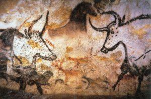 Målning från Lascauxgrottan, 17000-15000 f.Kr.