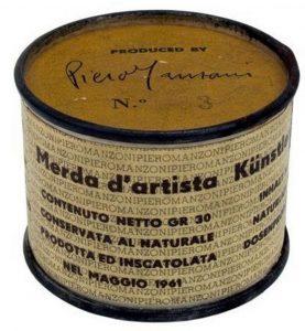 Piero Manzoni (1933-1961), Merda d´Artista, (Artist´s Shit), 1961