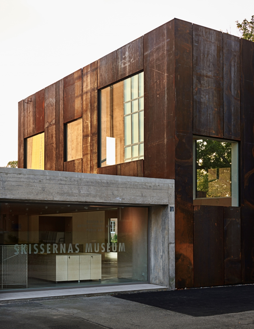 Folj nya moderna museets tillkomst